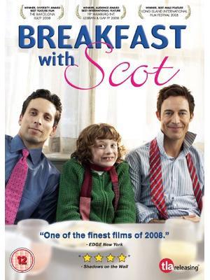 スコットと朝食を