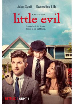 Little evil key art