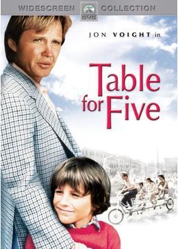 5人のテーブル