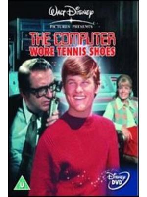 テニス靴をはいたコンピューター