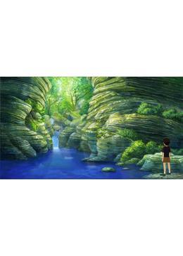 木の葉化石の夏