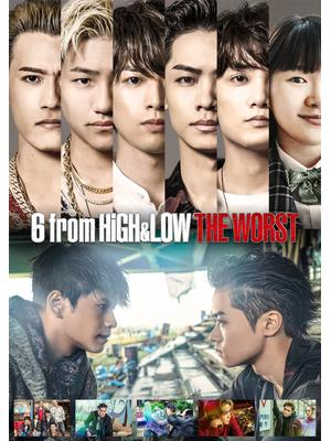 6 from HiGH&LOW THE WORST